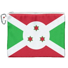 Flag Of Burundi Canvas Cosmetic Bag (xxl)