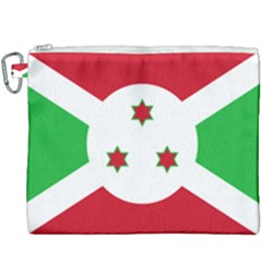 Flag Of Burundi Canvas Cosmetic Bag (xxxl)