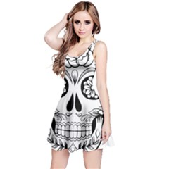 Sugar Skull Reversible Sleeveless Dress
