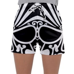 Tribal Sugar Skull Sleepwear Shorts