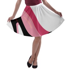 Stiletto  A Line Skater Skirt
