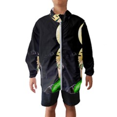 Sexy Mermaid In The Moonlight Wind Breaker (kids)