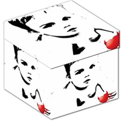 Cupid s Heart Storage Stool 12   by sherylchapmanphotography