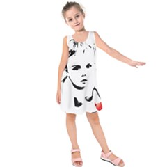 Cupid s Heart Kids  Sleeveless Dress