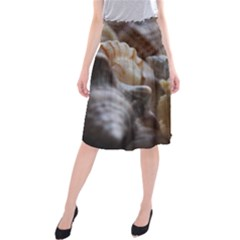 Seashells Midi Beach Skirt