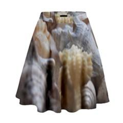 Seashells High Waist Skirt