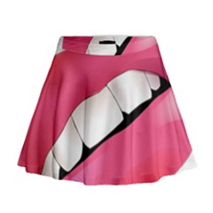 Smile Mini Flare Skirt