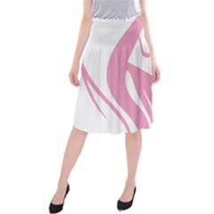 Pinky Midi Beach Skirt