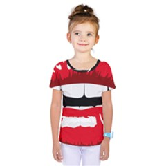 Sexy Mouth  Kids  One Piece Tee