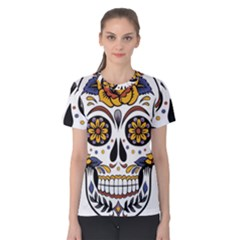 Sugar Skull Women s Cotton Tee