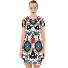 Cranium Sugar Skull Adorable In Chiffon Dress