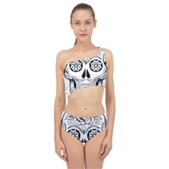 Sugar Skull Spliced Up Swimsuit
