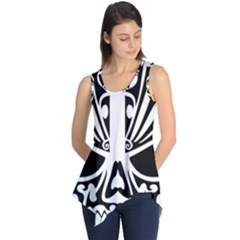 Tribal Sugar Skull Sleeveless Tunic