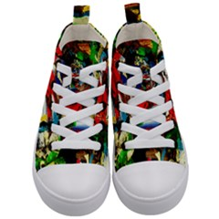 Catalina Island Not So Far 5 Kid s Mid Top Canvas Sneakers
