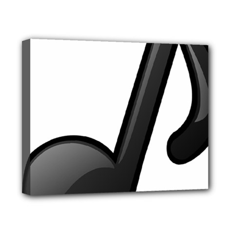 Music Note  Canvas 10  X 8