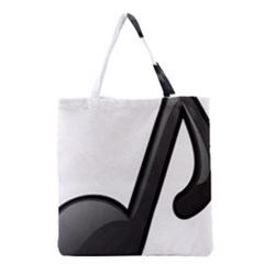 Music Note  Grocery Tote Bag