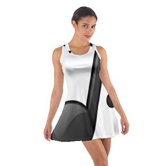 Music Note  Cotton Racerback Dress