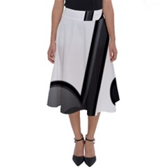 Music Note  Perfect Length Midi Skirt