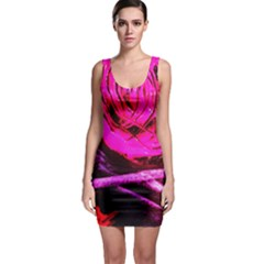 Calligraphy 2 Bodycon Dress