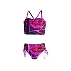 Calligraphy 2 Girls  Tankini Swimsuit