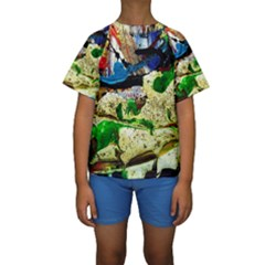 Catalina Island Not So Far 4 Kids  Short Sleeve Swimwear