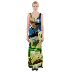 Catalina Island Not So Far 4 Maxi Thigh Split Dress