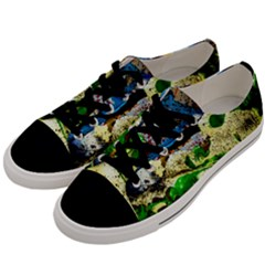 Catalina Island Not So Far 4 Men s Low Top Canvas Sneakers by bestdesignintheworld
