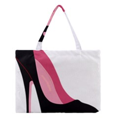 Black Stiletto Heels Medium Tote Bag by sherylchapmanphotography