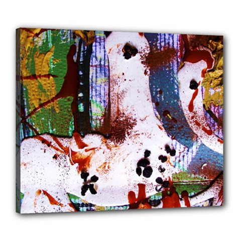 Doves Match 1 Canvas 24  X 20  by bestdesignintheworld