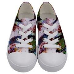 Doves Match 1 Kids  Low Top Canvas Sneakers