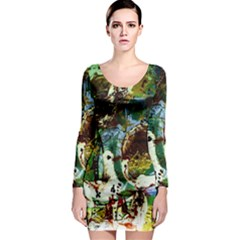 Doves Matchmaking 1 Long Sleeve Bodycon Dress