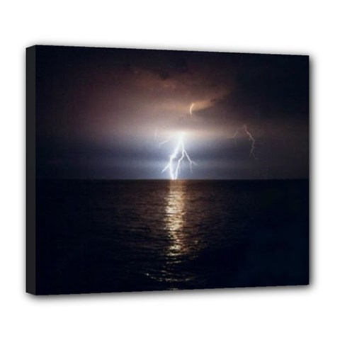 Lightning Deluxe Canvas 24  X 20