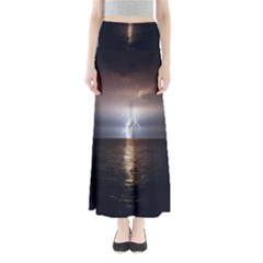 Lightning Full Length Maxi Skirt