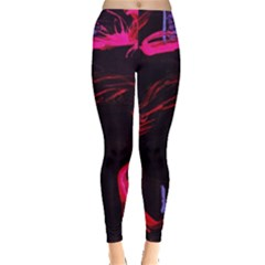 Calligraphy 4 Leggings