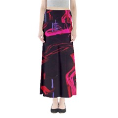 Calligraphy 4 Full Length Maxi Skirt