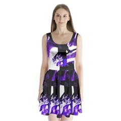 Sixx Split Back Mini Dress