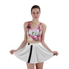 Music Note Mini Skirt