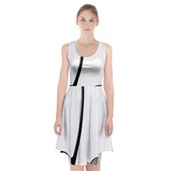 Music Note Racerback Midi Dress