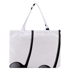 Music Note Medium Tote Bag by sherylchapmanphotography
