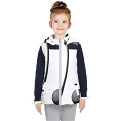 Music Note Kid s Hooded Puffer Vest