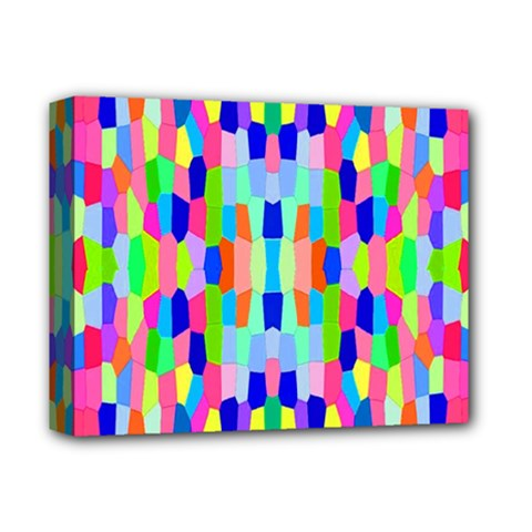 Artwork By Patrick Colorful 35 Deluxe Canvas 14  X 11