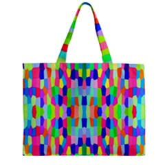 Artwork By Patrick Colorful 35 Zipper Mini Tote Bag