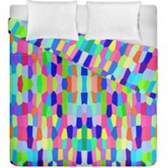 Artwork By Patrick Colorful 35 Duvet Cover Double Side (king Size)