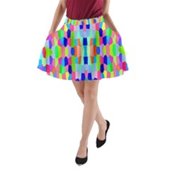 Artwork By Patrick Colorful 35 A Line Pocket Skirt