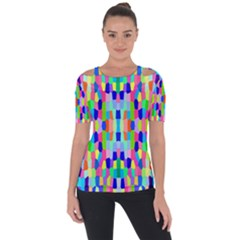 Artwork By Patrick Colorful 35 Short Sleeve Top