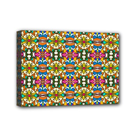Artwork By Patrick Colorful 36 Mini Canvas 7  X 5
