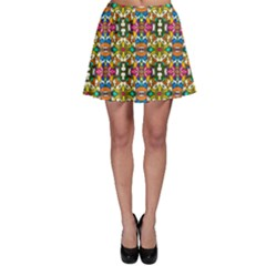 Artwork By Patrick Colorful 36 Skater Skirt