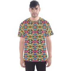 Artwork By Patrick Colorful 36 Men s Sports Mesh Tee