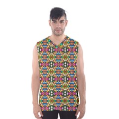 Artwork By Patrick Colorful 36 Men s Basketball Tank Top