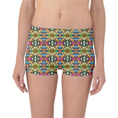 Artwork By Patrick Colorful 36 Boyleg Bikini Bottoms